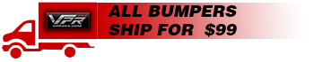 All Bumpers Ship For $99